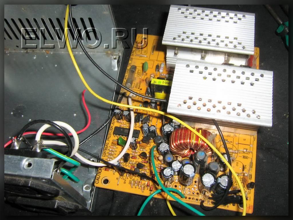 Но блок питания ATX ещё рабочий.  Вот и приткнём его для магнитолы.  Хотя по паспорту автомагнитолы и.