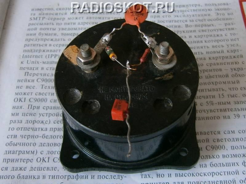 Конструкция ВЧ детектора
