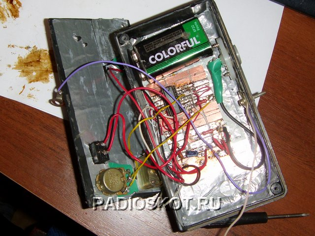 Из чего сделать металлоискатель в домашних условиях