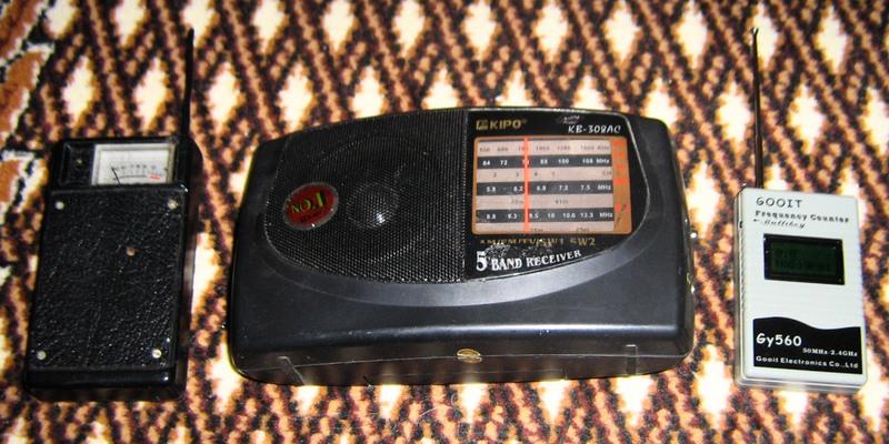 ВЧ детектор, аналоговый ФМ