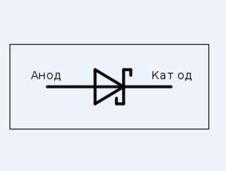 ДИОД ШОТТКИ - обозначение