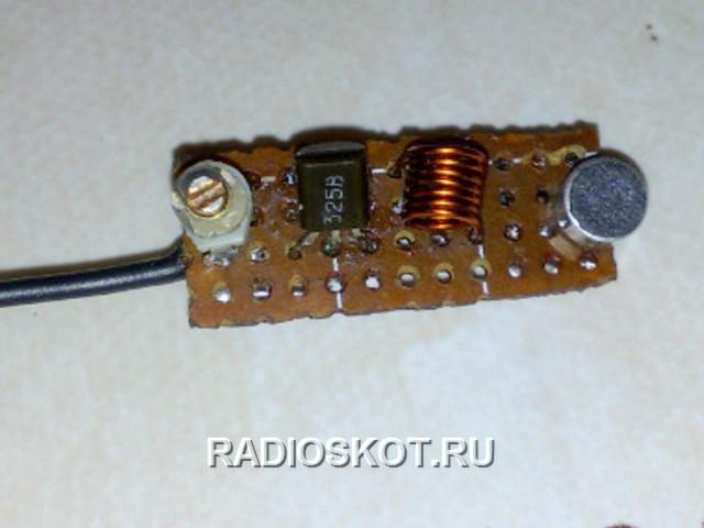 схемы этого радиожучка,