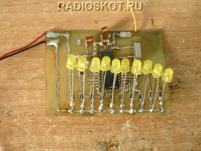 Аппаратура 10-ти командного блока радиоуправления устройствами