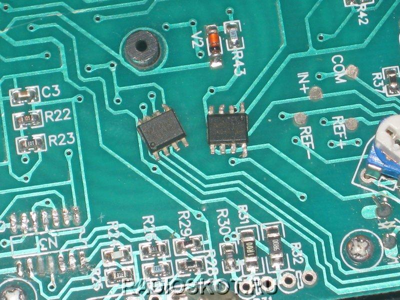 поставить две микросхемы, которые содержат по 2 ОУ