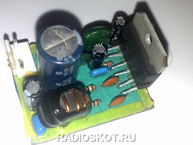 TDA7384 - 40 ватт на канал.