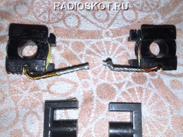 трансформатор от компьютерного блока питания - каркас