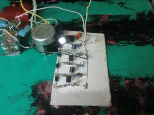 Самодельный усилитель звука 12 вольт - Самодельный