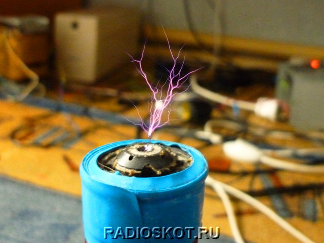 Катушка тесла на 220 вольт своими руками 63