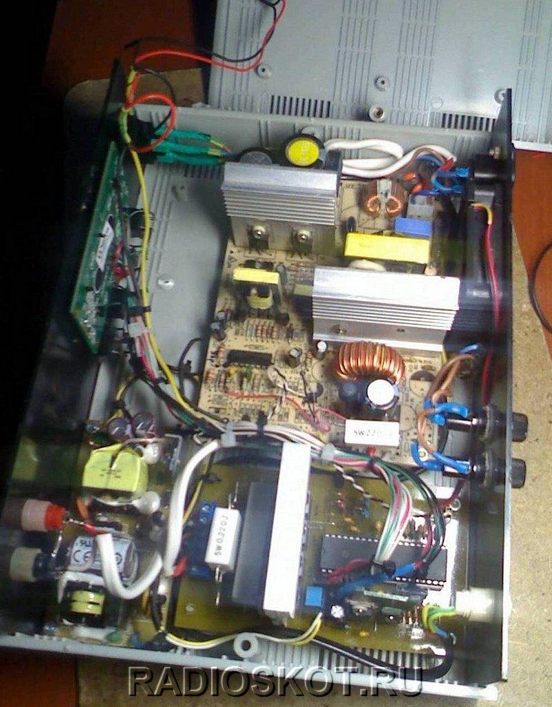 О деталях схемы автоматической зарядки