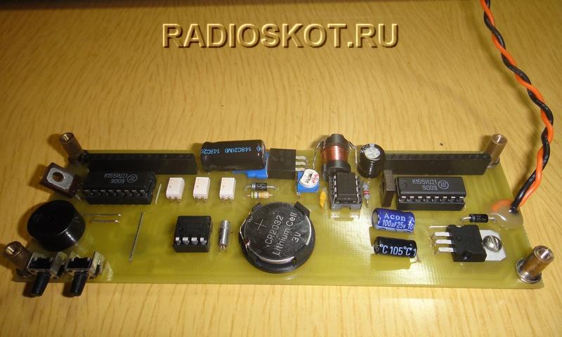 Делаем электронные часы с использованием светящихся индикаторов