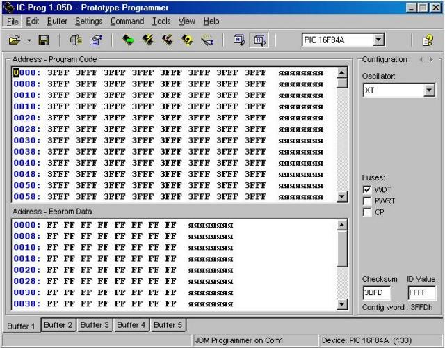 ExtraPIC программатор PIC микроконтроллеров  рабочий