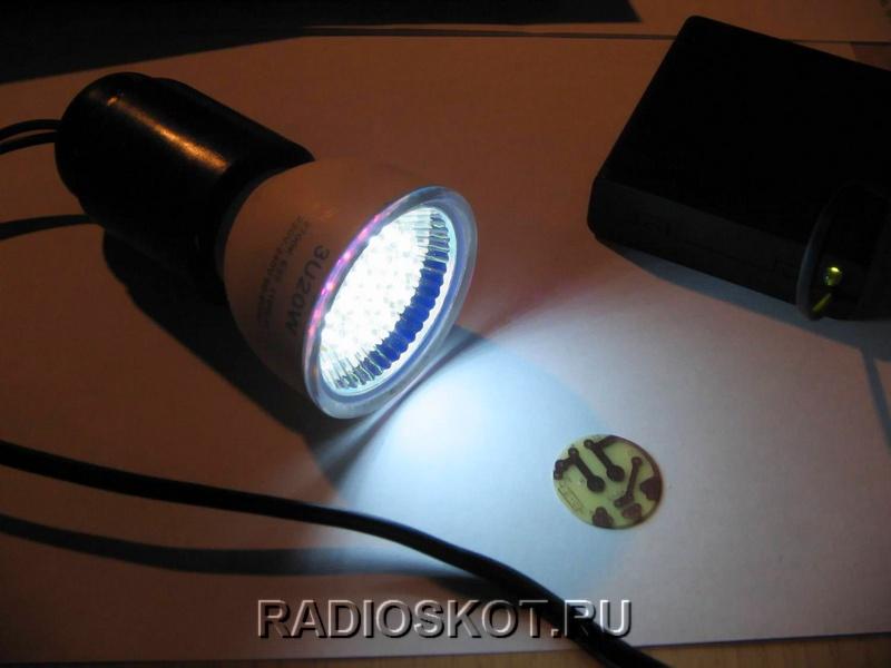 Мигающая лампочка своими руками фото 680
