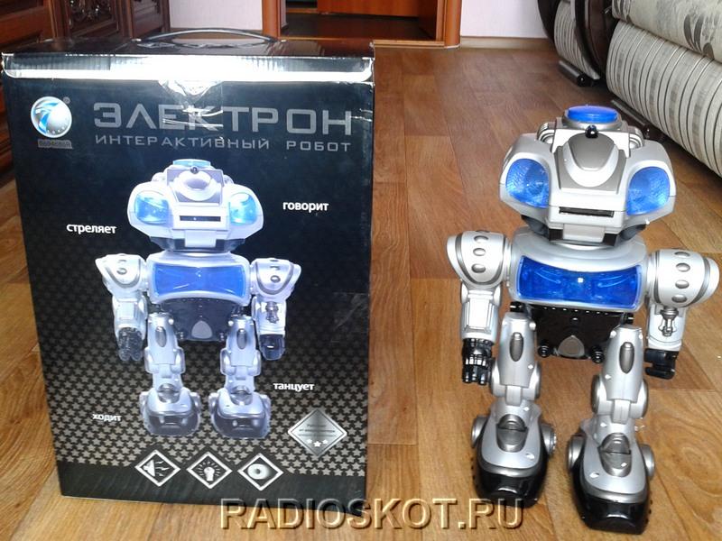робот электрон инструкция - фото 11