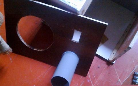 Как сделать фазоинвертор к сабвуферу