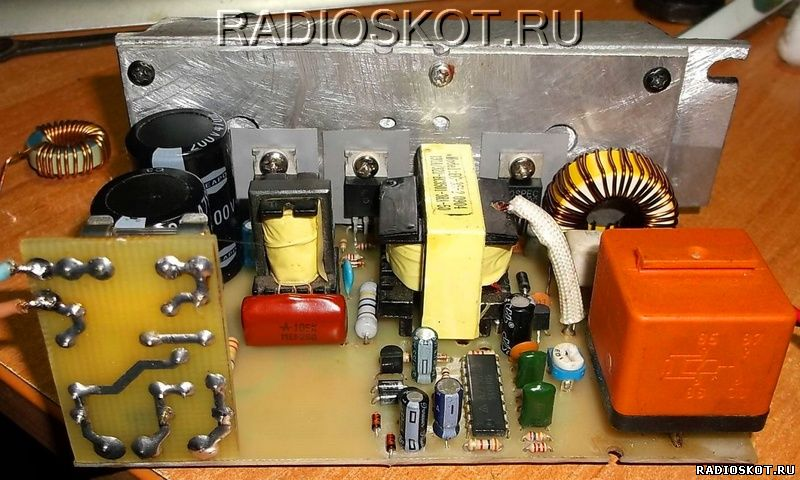 zu impulsnoe 12 3 - Схема импульсного зарядного устройства для акб
