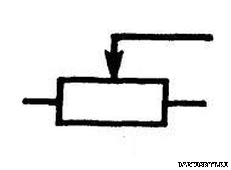 Переменный резистор рисунок на схеме
