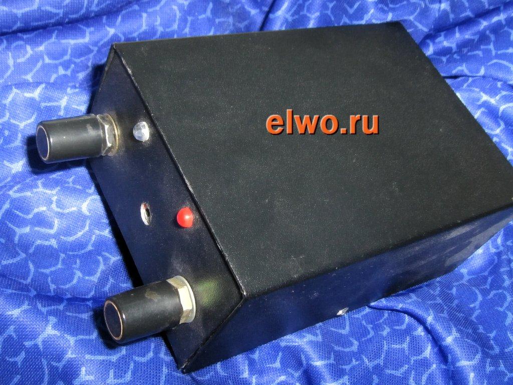 корпус из алюминия самодельного металлоискателя