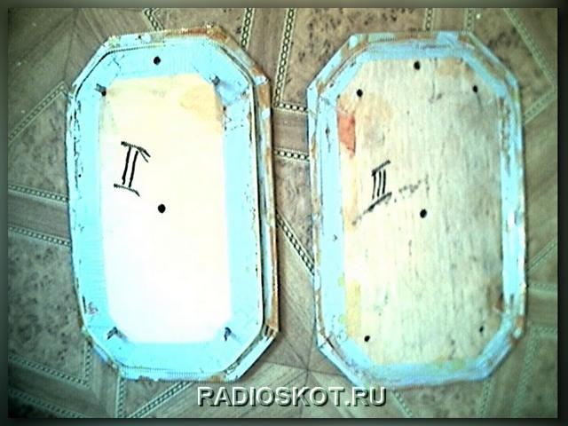 шаблон катушки металлоискателя выполненный из фанеры