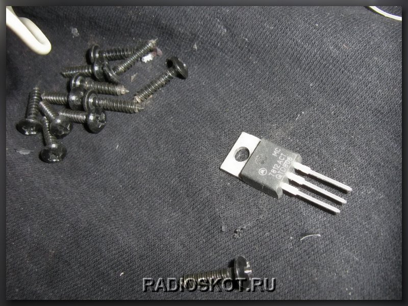 замена микросхемы КРЕН для
