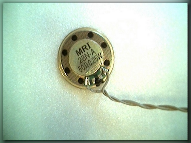 динамик в самодельный металлоискатель клон