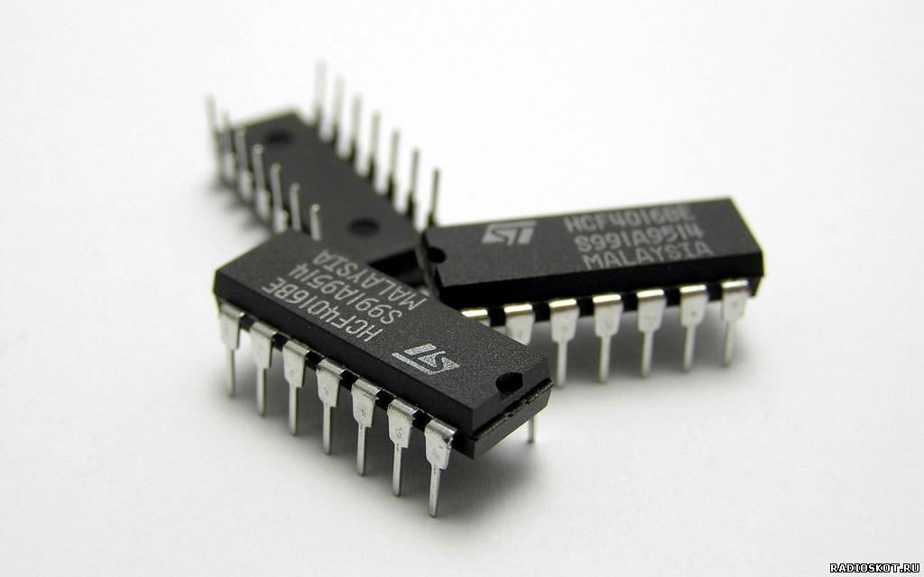 Фото цифровой микросхемы
