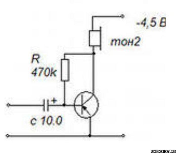 Пример усилителя по схеме с