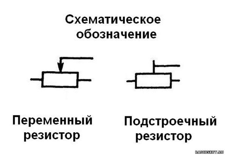 переменного резистора