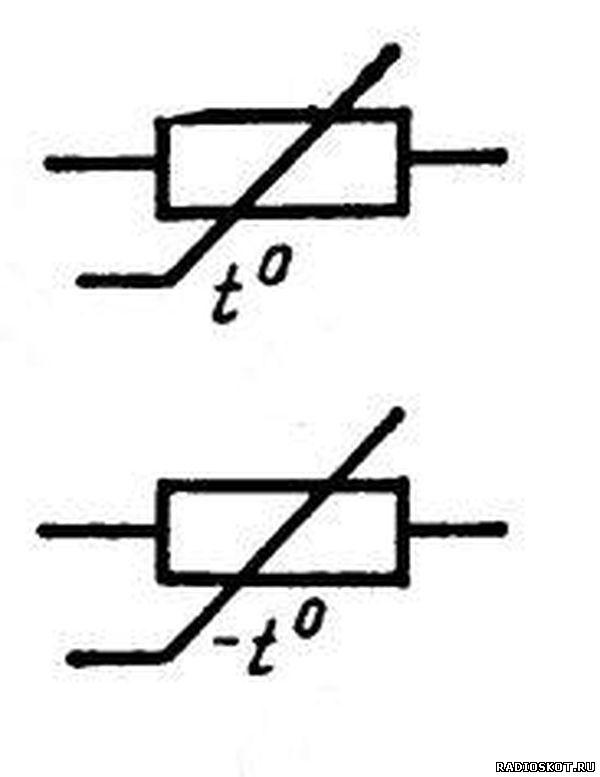Терморезисторы схематическое