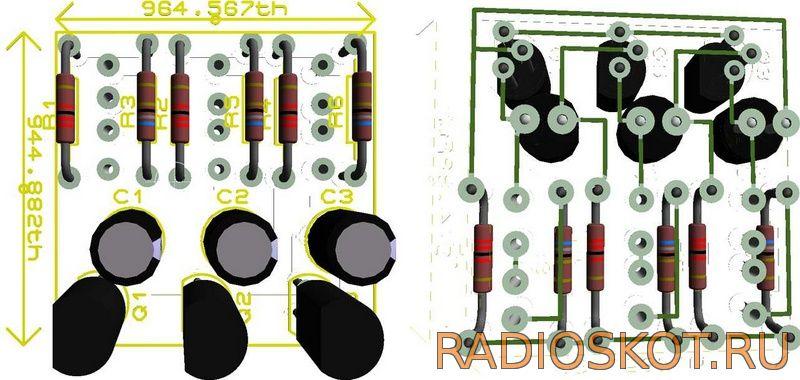 Схема мультивибратора на транзисторах с регулируемой частотой