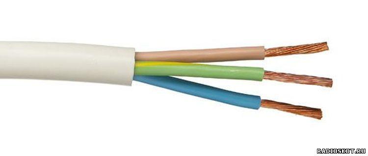 Фото трехжильный провод - цвета