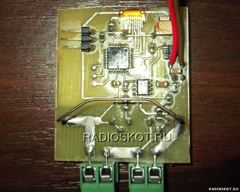 изготовление ампервольтметра на микроконтроллере и ЖК дисплее от телефона
