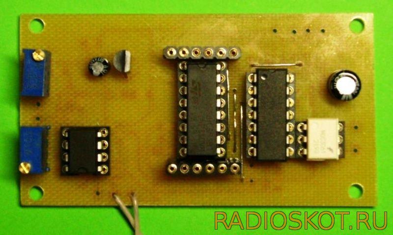 Схема терморегулятора - первый