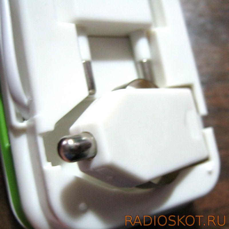 разъем и шнурок для питания зарядки от прикуривателя машины