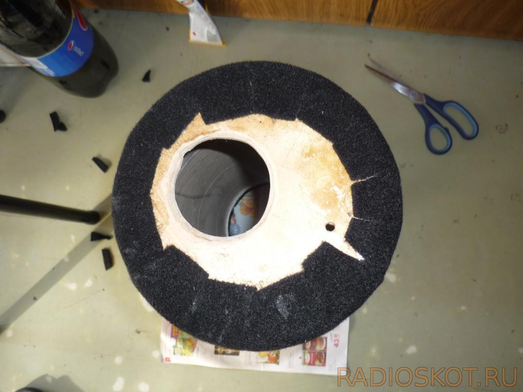 Как сделать круглый сабвуфер своими руками 56