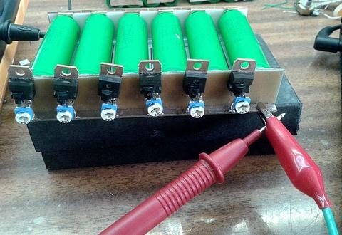 одновременная зарядка нескольких аккумуляторов 18650