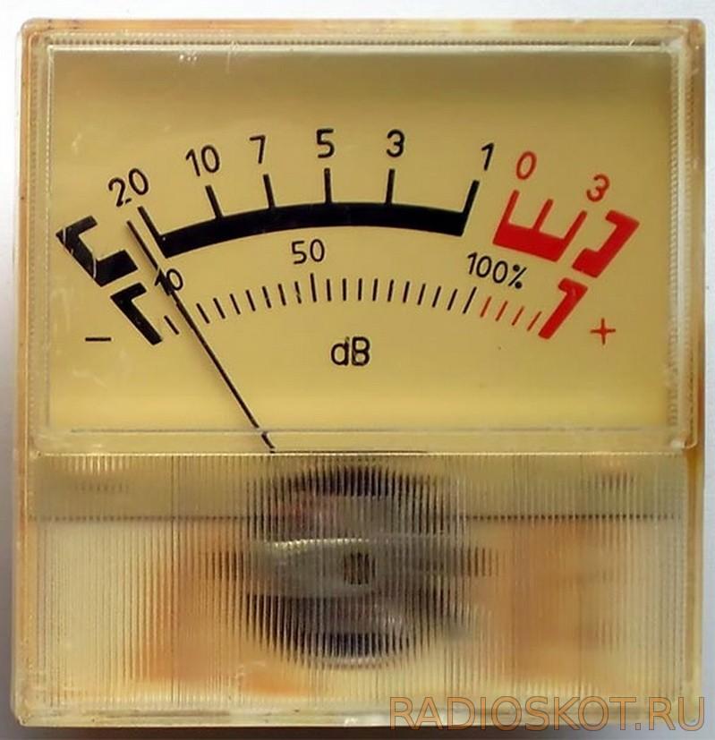 Схема вольтметра на стрелочном индикаторе
