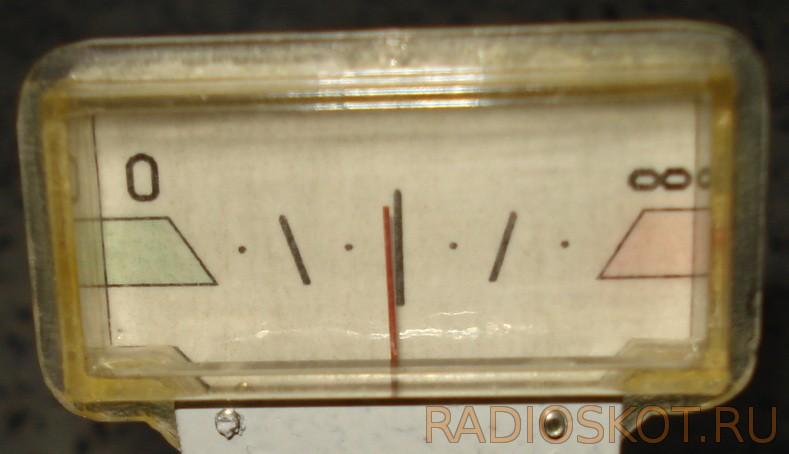 стрелочный индикатор с новой шкалой
