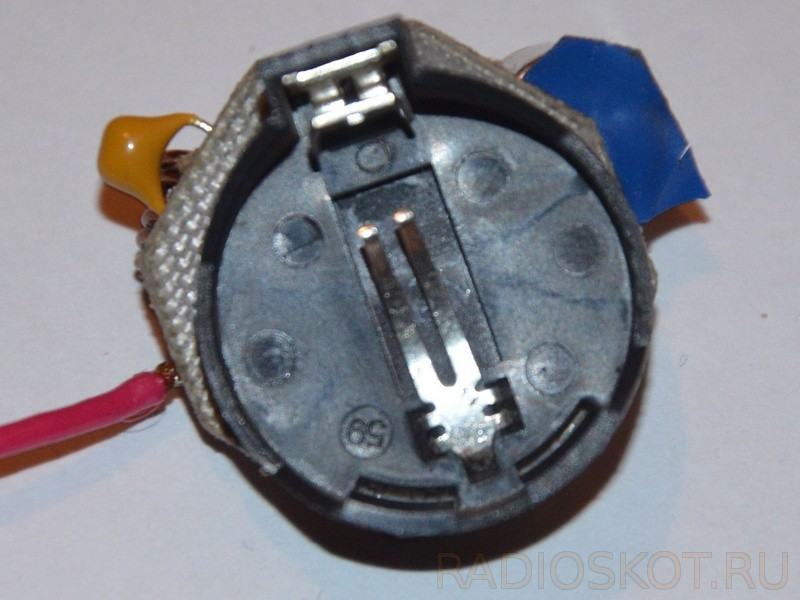 Держатель батарейки передатчика