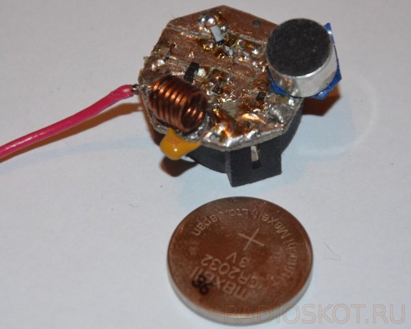 Простой SMD жук на транзисторах