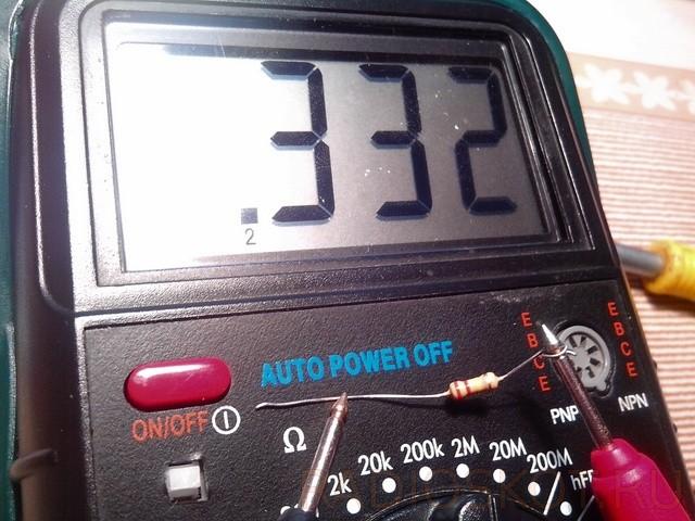 меряем резистор омметром