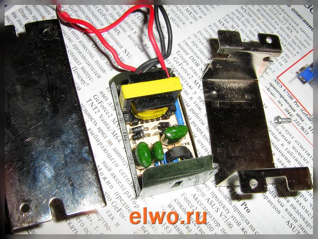 схема подключения понижающего трансформатора vs et250