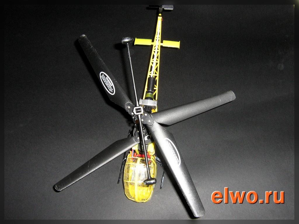 игрушечный радиоуправляемый вертолёт