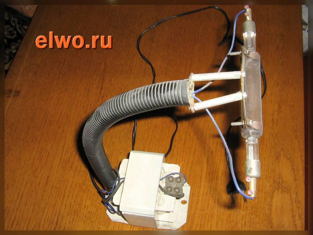 Как сделать лампу вуда своими руками инструкция 35