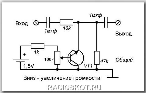 Усилитель звука с регулятором громкости своими руками