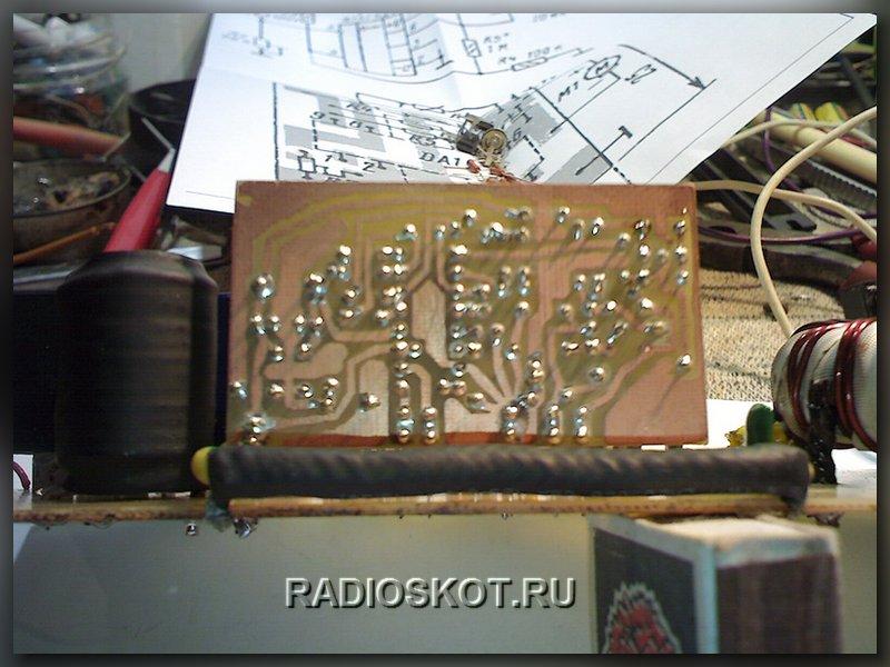 печатная плата генератора Преобразователя на TL494.