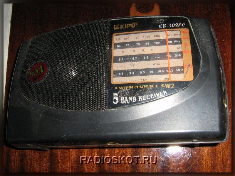 ФМ приёмник для натстройки подслушивающего устройства