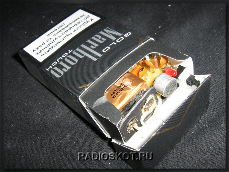 устройство в пачке сигарет