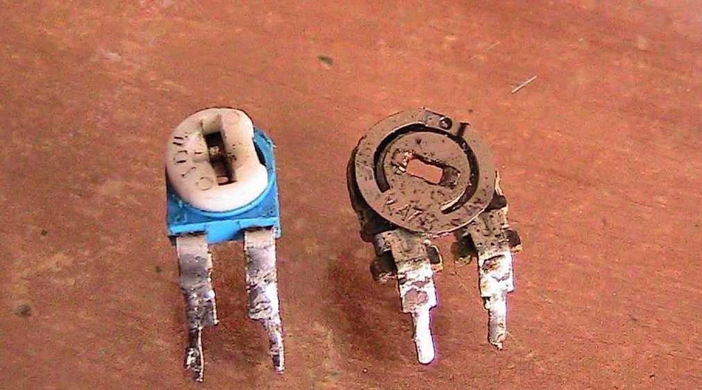 Фото подстрочного резистора типа WH06-1, WH06-2