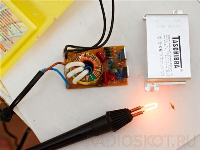 Как сделать электровыжигатель