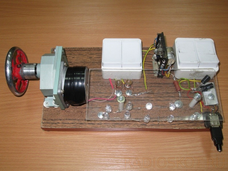 Как сделать генератор ручной генератор